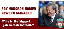 Hodgson, antrenor FC Liverpool