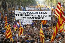 Catalanii vor separarea de Spania