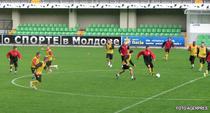 Dinamo, la antrenamentul oficial de la Chisinau