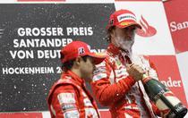 Massa si cadoul pentru Alonso
