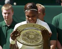 Serena Williams, triumfatoare la Wimbledon