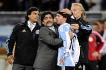 Maradona, trist dupa meciul cu Germania