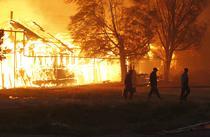 Incendii de padure devastatoare in centrul Rusiei