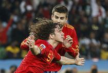 Carles Puyol, decisiv contra Germaniei