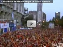 Bucurie mare a spaniolilor