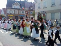 Parada dansatorilor in Betzingen