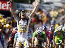 Mark Cavendish, prima victorie din Turul Frantei 2010