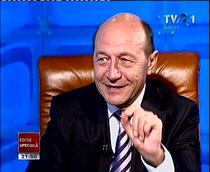 Traian Basescu la TVR (arhiva)