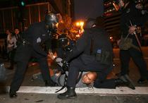 Violente in Oakland