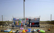 Sumquait si peninsula Absheron, Azerbaijan