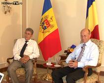 Mihai Ghimpu si Traian Basescu