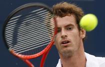 Andy Murray, succes la Federer