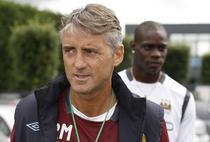 "Mancini (prim plan) si Balotelli, oaspeti de ""lux"" in Timisoara"