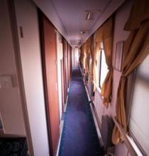 In trenul spre Aral