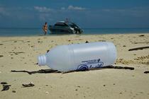 Plastic la tarmul marii