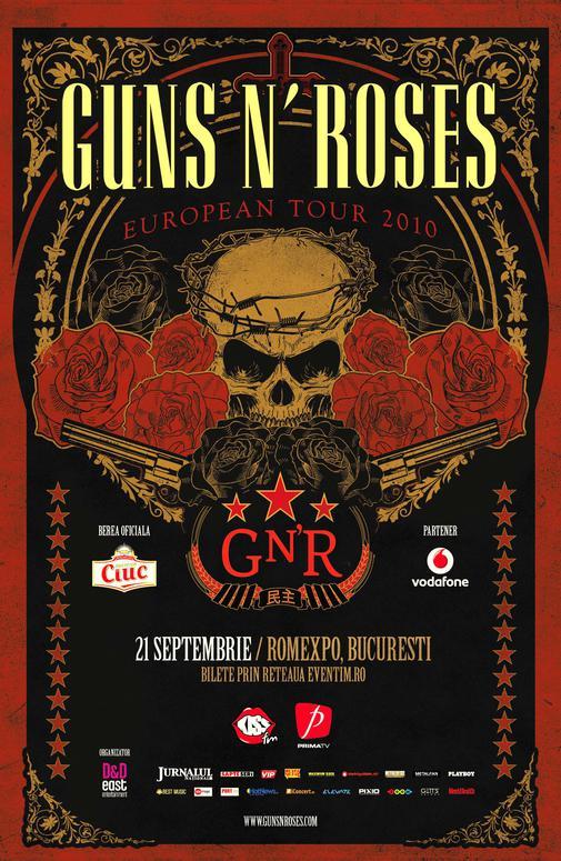 afis Guns N'Roses