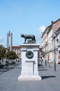 Statuia Lupoaicei din Cluj