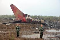 Avion prabusit in China