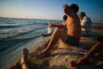 La o votca pe litoralul kazah