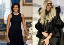 Michelle Obama si Lady Gaga