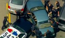 Ofiterii l-au arestat pe suspect