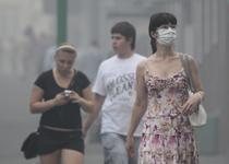 Moscovitii sufera din cauza fumului