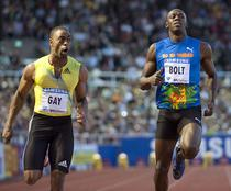 Gay il invinge pe Bolt
