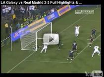 Real Madrid, victorie cu LA Galaxy