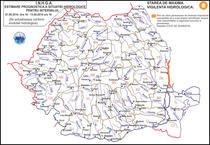Avertizare hidrologica 9-13 august