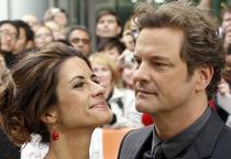 Colin Firth alaturi de sotia sa