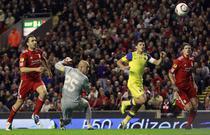 Tanase, gol superb pe Anfield