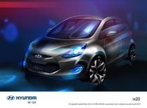 Schita Hyundai ix20