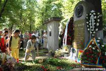 Mormantul lui Mihai Eminescu din Cimitirul Bellu