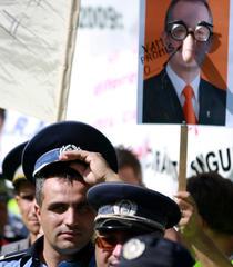 Galerie foto: Mitingul politistilor