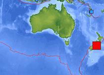 Seism in Pacificul de sud