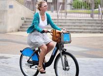 Cu bicicleta in oras