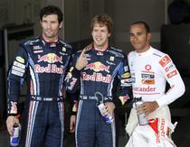 Webber, Vettel si Hamilton, cei mai buni timpi la Suzuka