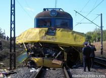 Grav accident feroviar in Ucraina