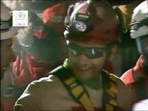 Primul miner salvat