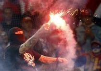 Incidente la meciul Italia-Serbia