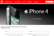 iPhone 4, vandut oficial si prin Vodafone