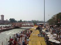 Pelerini la Gange