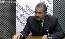 Mihai Tanasescu in studioul HotNewsTV
