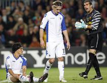 Pinto l-a pacalit pe Santin in Liga Campionilor