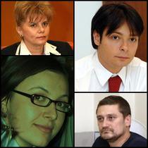 Corina Dumitrescu, Maria Cristina Ana, Victor Alistar si Mihai Rapcea