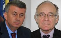 Marian Tutilescu (MAI) si Mihai Botorog (MAE)