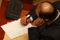 FOTOGALERIE din parlament, la votarea motiunii