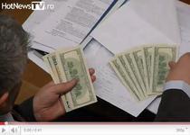 Bani numarati in plenul Parlamentului