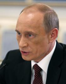 Vladimir Putin la Kiev
