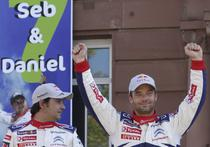 Sebastien Loeb (dreapta) si Daniel Elena, un nou titlu mondial